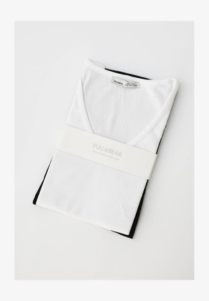 2PACK - T-shirt - bas - white