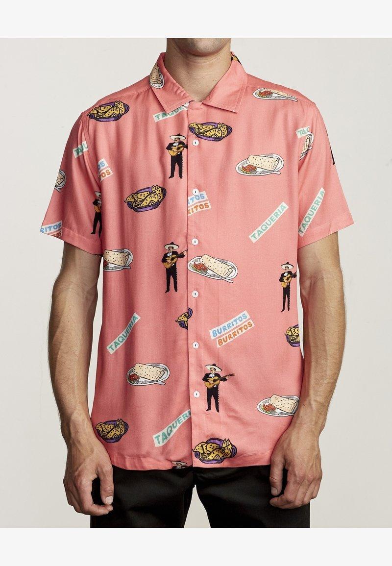 RVCA - HOT FUDGE  - Shirt - pink