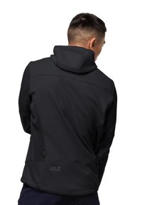 Jack Wolfskin - Soft shell jacket - black - 1
