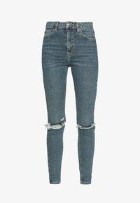 Topshop - ALABAMA JAMIE  - Jeans Skinny Fit - green cast - 3