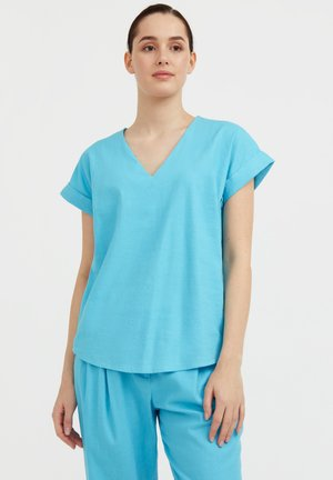 Blouse - turquois