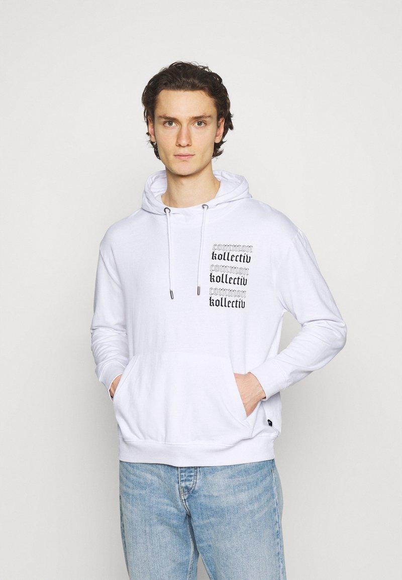 Common Kollectiv - GOTHIC HOOD UNISEX  - Hoodie - white