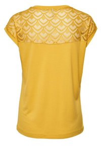 ONLY - T-shirts med print - yellow - 1