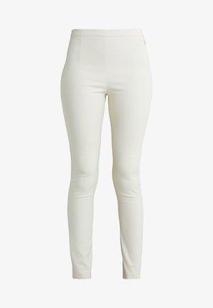 HIGH WAIST PANT - Kalhoty - antica beige