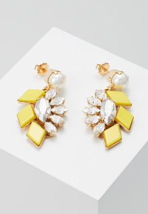 Earrings - yellow/gold-coloured