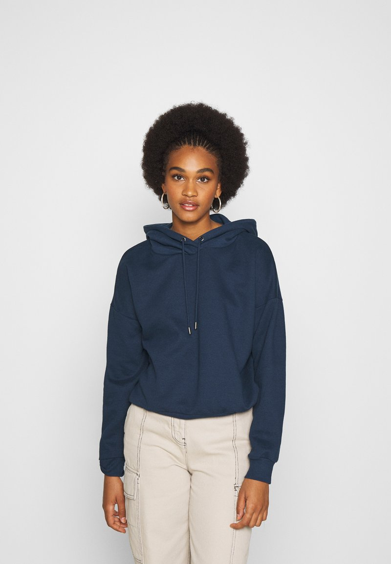 ONLY - ONLHAILEY HOOD - Hoodie - navy blazer