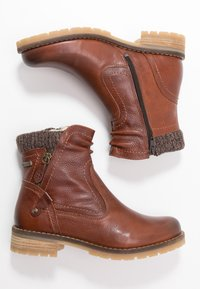 Be Natural - BOOTS - Classic ankle boots - cognac - 3