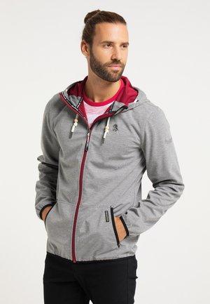 Waterproof jacket - grau melange