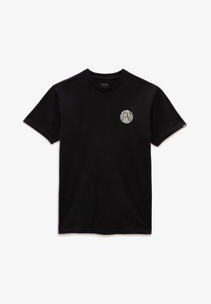 MN PLANTA SS - T-shirt print - black