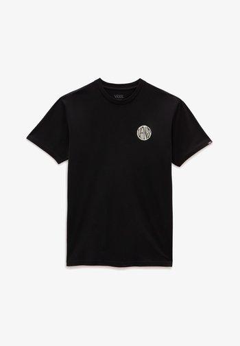 MN PLANTA SS - Print T-shirt - black