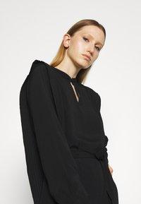Bruuns Bazaar - LILLI COVER DRESS - Day dress - black - 3