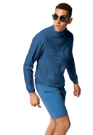 Soft shell jacket - indigo blue