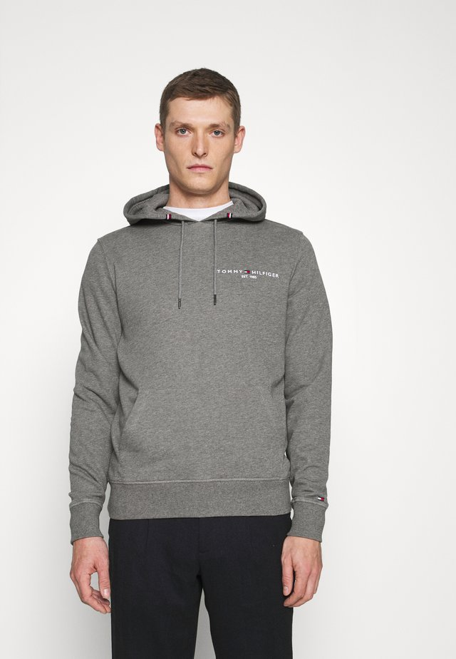 SMALL LOGO HOODY - Sweat à capuche - grey