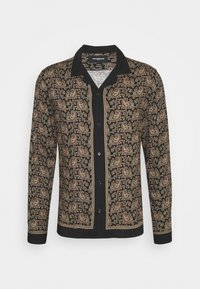 The Kooples - CHEMISE - Koszula - black/gold