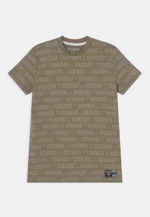 UNISEX - T-shirt print - grunge green/vert