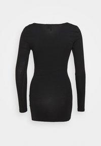 Vero Moda Petite - VMMAXI SOFT LONG - Long sleeved top - black - 1