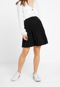 Anna Field Petite - A-snit nederdel/ A-formede nederdele - black - 0