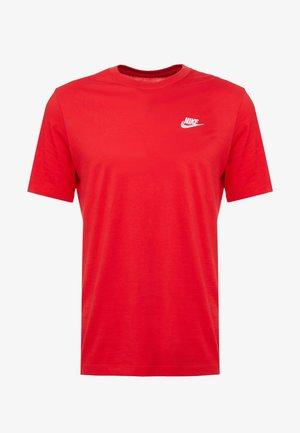 CLUB TEE - T-shirts - university red/white