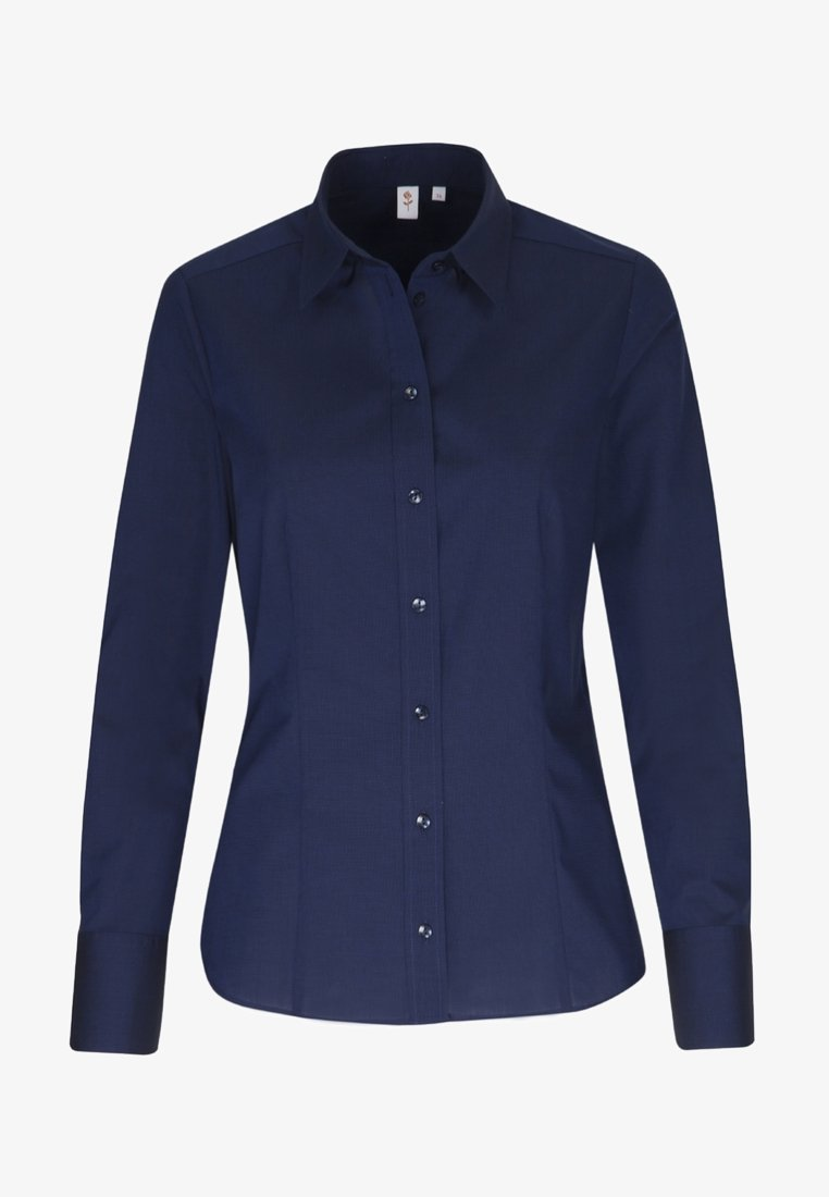 Seidensticker - Button-down blouse - blue