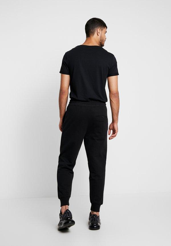 Mennace REGULAR SIGNATURE - Spodnie treningowe - black/czarny Odzież Męska AVTB