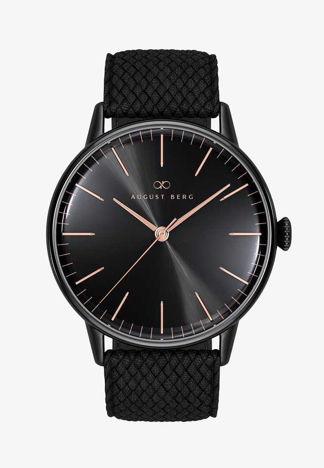 UHR SERENITY NOIR BLACK BLACK PERLON 40MM - Watch - sunray black