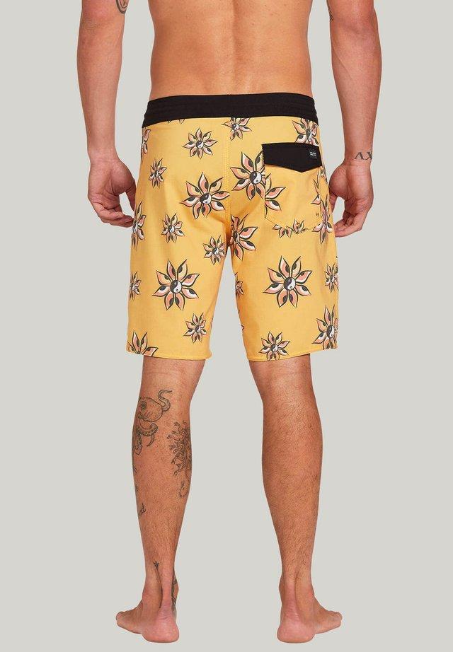 BURCH STONEY 19 BOARDSHORT - Shorts da mare - mineral_yellow