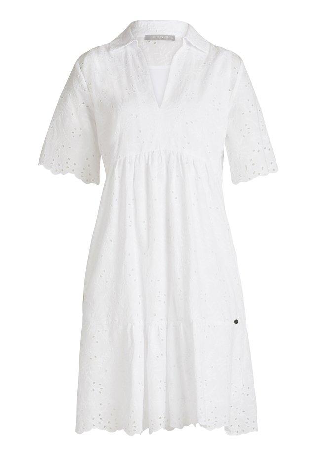 MIT 3/4 ARM - Day dress - weiß