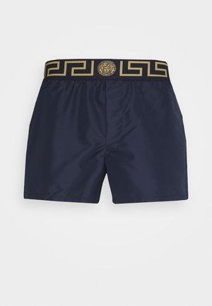 BOXER MARE UOMO - Swimming shorts - blu/oro