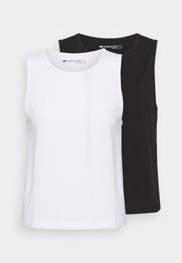 2 PACK - Toppi - black/white