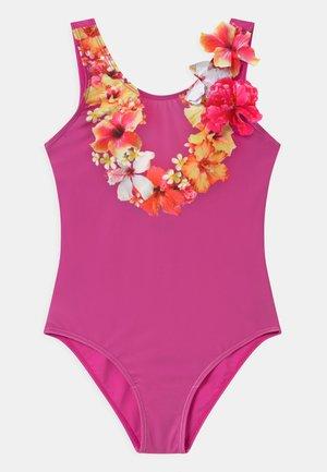 NIKA - Swimsuit - mottled pink