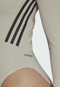 adidas Performance - Leotard - mottled beige - 4