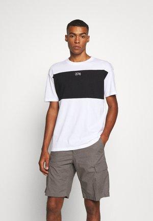 SPLIT - T-shirt print - white