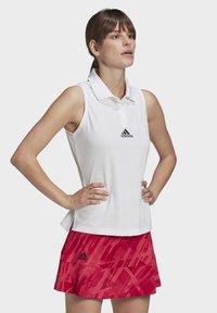 adidas Performance - TENNIS MATCH TANK TOP HEAT.RDY - Polo shirt - white - 2