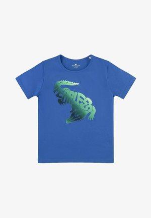 MIT BUNTEM PRINT - T-shirt print - nebulas blue/blue