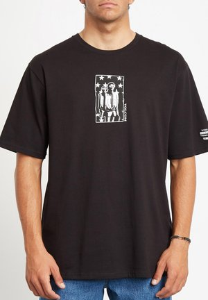 ADGREEDMENT RLX SS - T-shirt con stampa - black