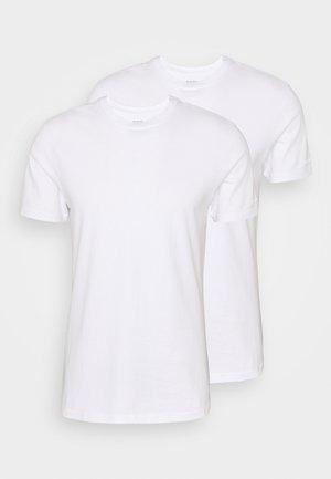 CREW NECK UNDERSHIRT 2 PACK - Undershirt - white