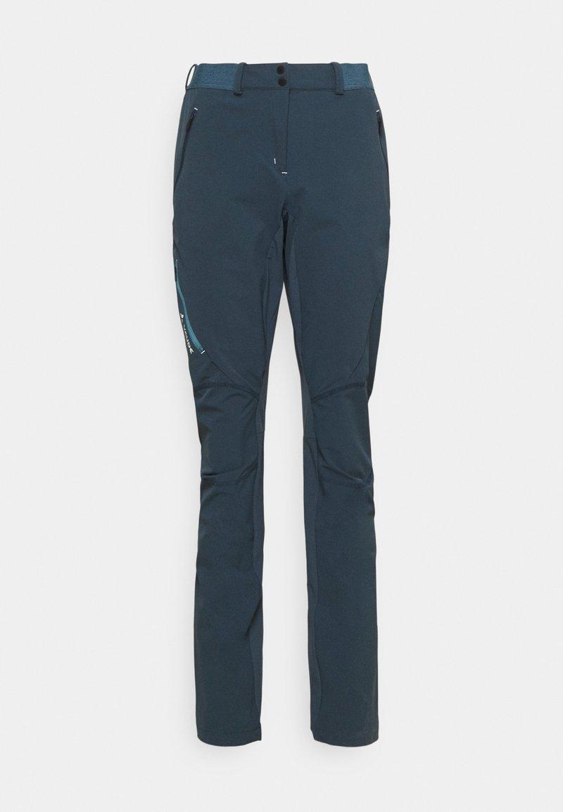 Vaude - SCOPI PANTS - Outdoor trousers - steelblue