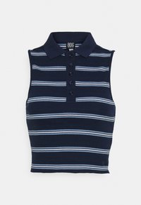 BDG Urban Outfitters - SLEEVELESS STRIPED - Top - navy - 4