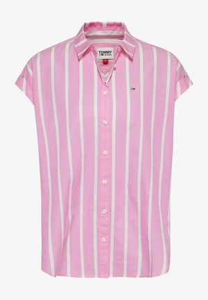 Button-down blouse - tou pink