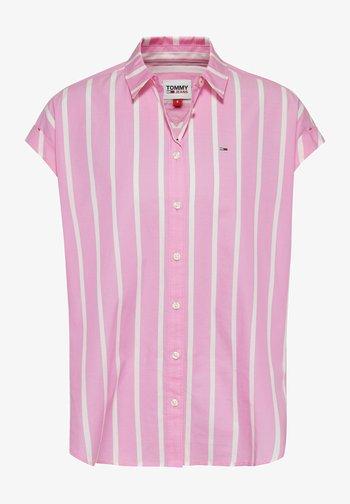 Button-down blouse - tou pink