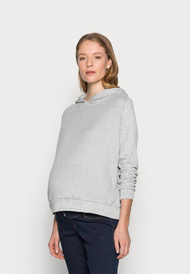 BRUSHED HOODY - Svetr - grey