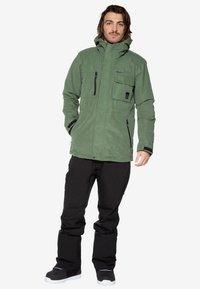 Protest - Ski jacket - mottled dark green - 1