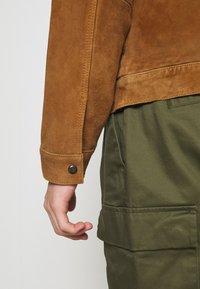 AllSaints - ADAIRE JACKET - Leather jacket - tan - 5