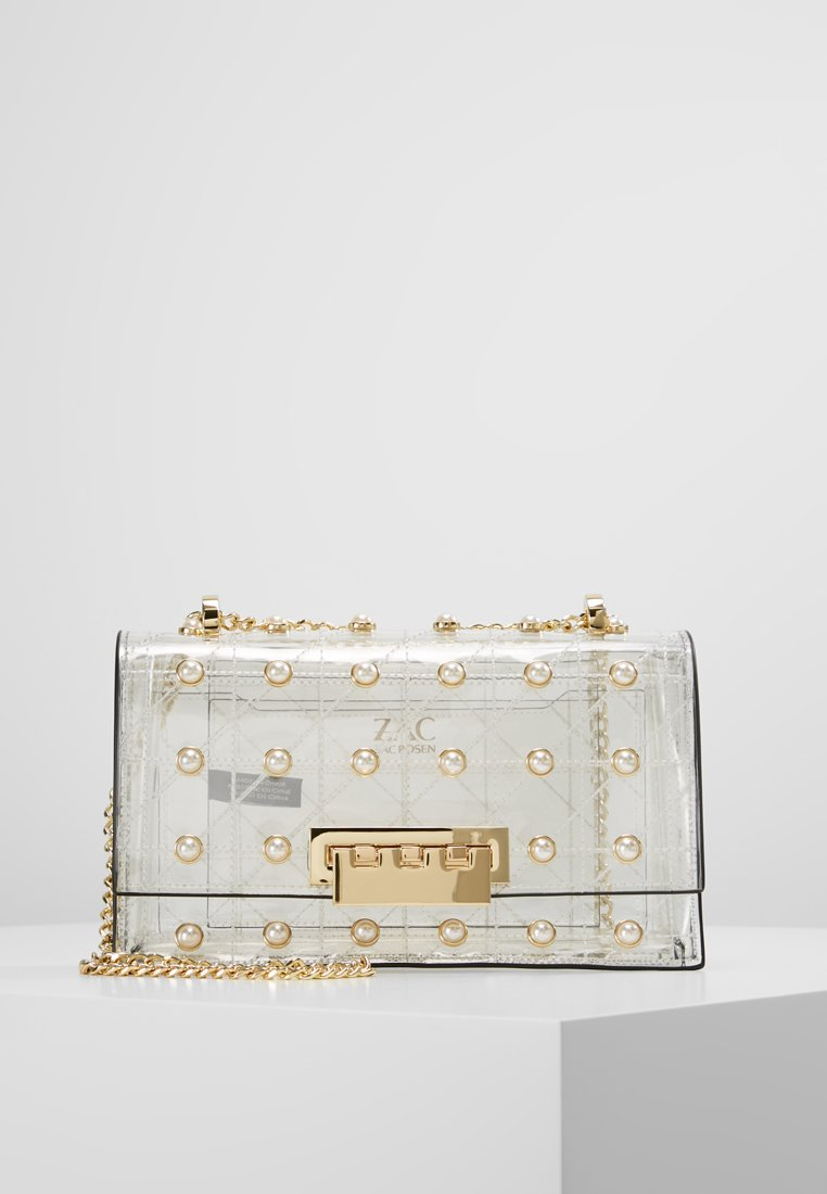 ZAC Zac Posen - EARTHETTE CHAIN SHOULDER QUILTED PEARL LADY - Handtasche - clear