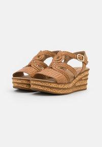 Gabor - Platform sandals - cognac - 2