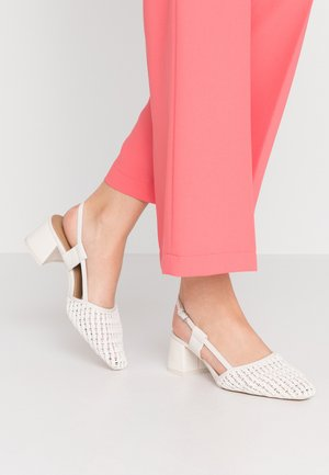 JOLLY SLINGBACK - Escarpins - white