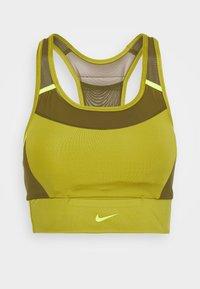 Nike Performance - POCKET BRA PAD - Sport BH - tent/olive flak/volt - 3