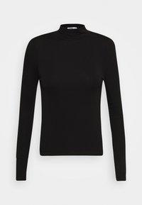 Cotton On - SHEER VINTAGE HIGH NECK LONG SLEEVE - Topper langermet - black - 0