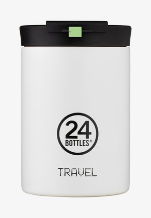 TRINKBECHER TRAVEL TUMBLER BASIC - Drink bottle - weiß