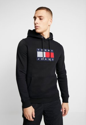 FLAG HOODIE - Sweat à capuche - black